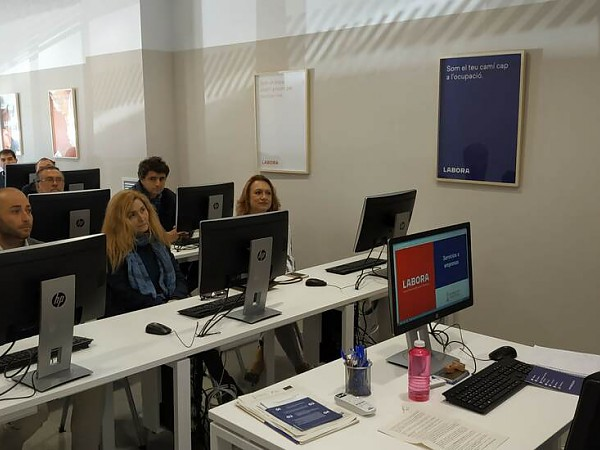 La Junta Directiva de CEDMA visita las instalaciones del Espai Labora de Dénia